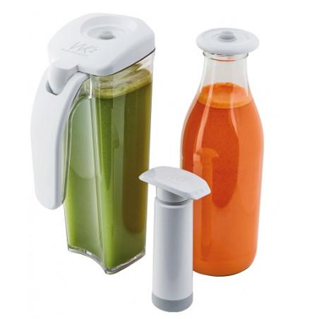 kit conservation de jus sous vide & smoothie
