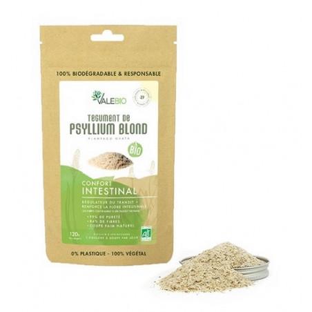 paquet de Psyllium blond bio à acheter sur Davidson-distribution.com