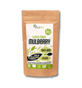 Mulberries - super aliments - 120 gr