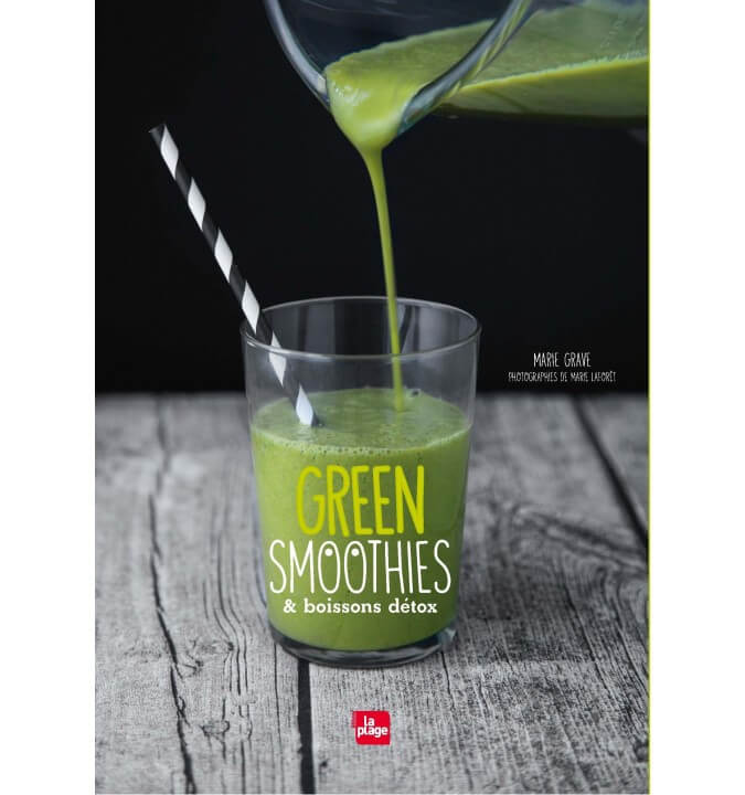 Green smoothies et boissons detox - M. Grave