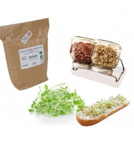 Pack germination - set 2 germoir + Luzerne 500g