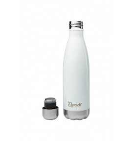 Bouteille isotherme inox blanc - thermos