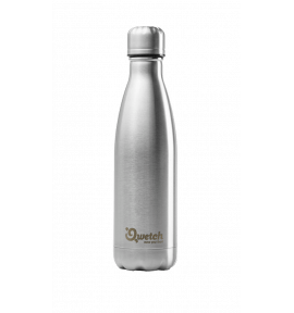 Bouteille isotherme inox brossé - thermos