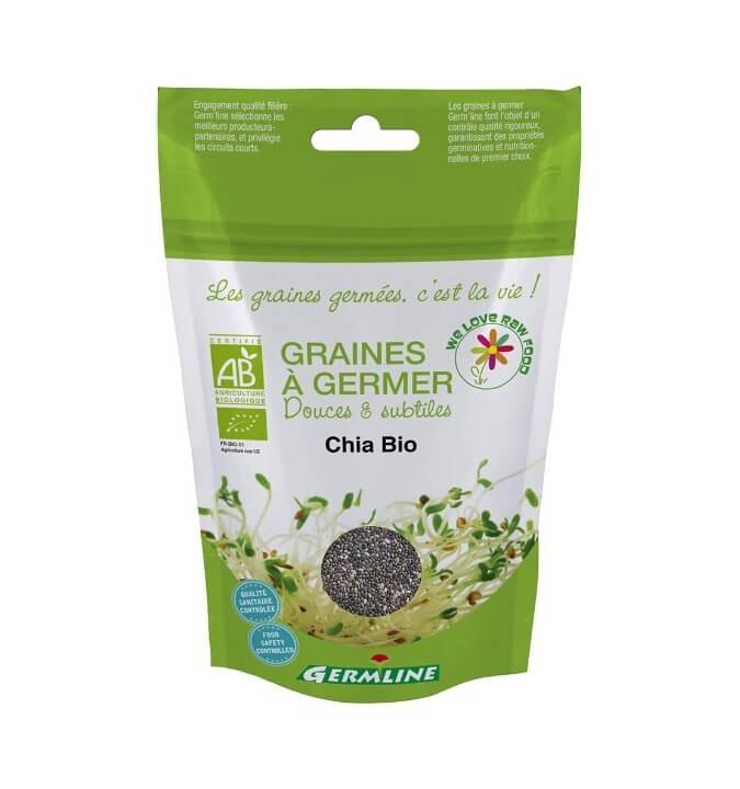 Graines germées Germline CHIA BIO 100G