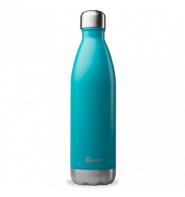Bouteille isotherme bleu turquoise - thermos