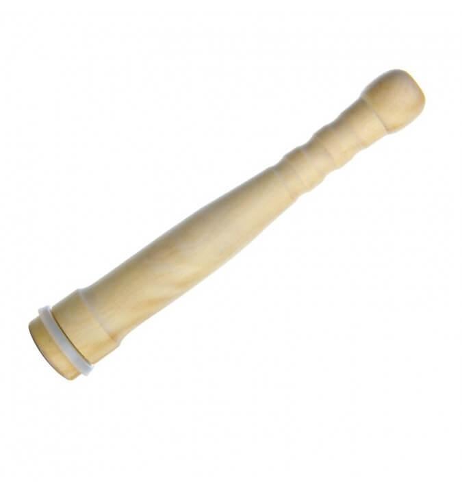 Poussoir en bois avec joint en silicone - Angel