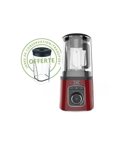 Vacuum Blender sous vide Kuvings rouge