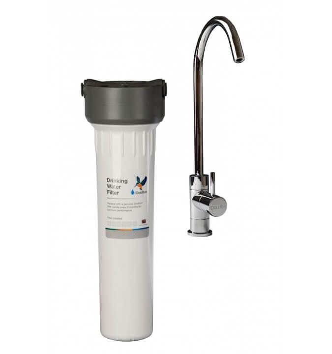 Filtre Doulton HIP Blanc sous évier