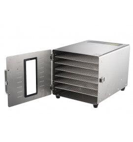 Déshydrateur Inox 6 grilles 29/29 cm - Foodvac