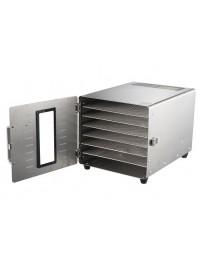 Déshydrateur alimentaire Inox 6 grilles 29/29 cm - Foodvac