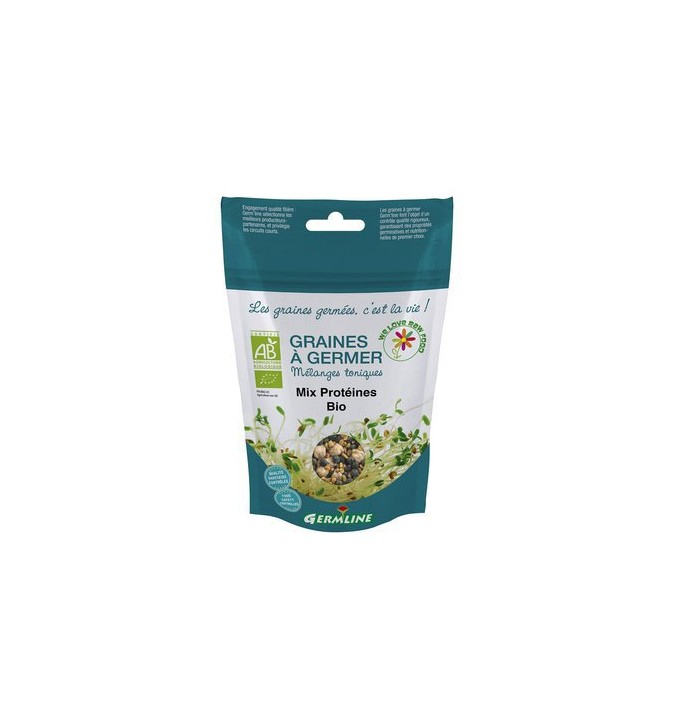 Graines à Germer Mix Protéines 200G - Germline