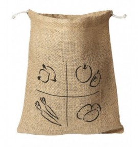 Sac en jute coton bio - Ah table
