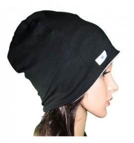 Bonnet Béanie pour éléctrosensible - E.P.E Conseil - 2 coloris Noir