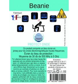 Bonnet Béanie pour éléctrosensible - E.P.E Conseil - 2 coloris
