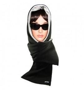 Capuche écharpe pour éléctrosensibles - E.P.E Conseil - 3 coloris Noir