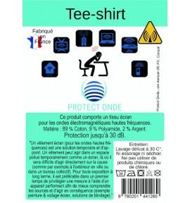 T Shirt anti-ondes pour homme - E.P.E Conseil - 4 tailles