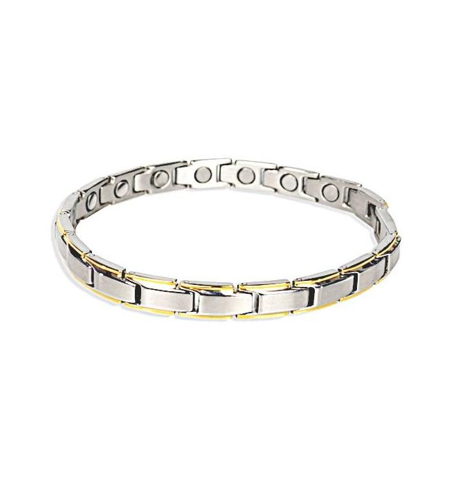 Bracelet magnétique bicolore Vénitien - Alphapole