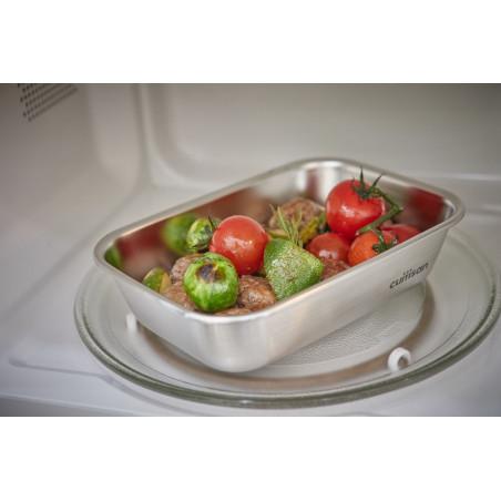 Boîte inox Cuitisan - boîte hermétique four et micro-onde - boîte isotherme repas chaud ou froid