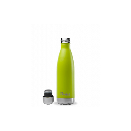 Bouteille thermos isotherme Qwetch inox vert - 500 ml