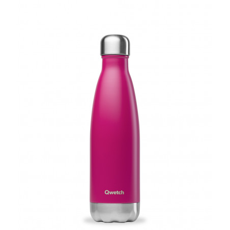 Bouteille thermos isotherme Qwetch Magenta - 750 ml