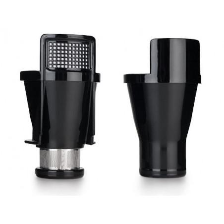 Extracteur de jus horizontal Oscar DA-1000 livré avec 2 filtres (tamis).