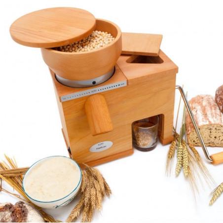 Moulin à grains et Floconneuse Komo FIDIFLOC MEDIUM