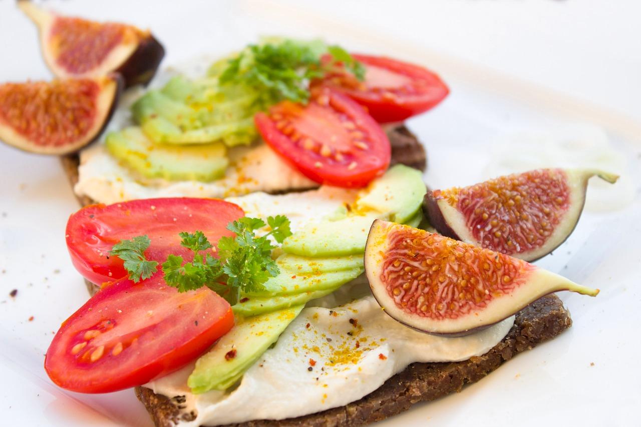 alimentation saine, assiette repas, sandwich maison