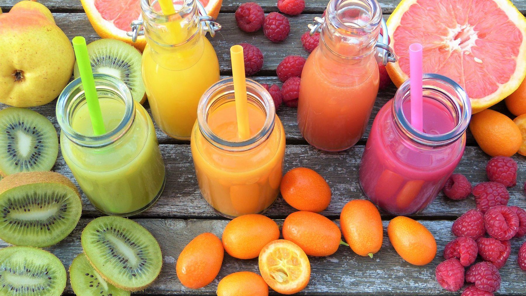 smoothie, extracteur de jus, jus frais