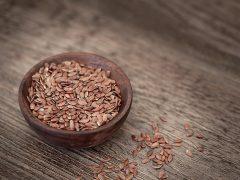 Zoom sur les graines germées de lin !