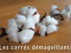 Coton démaquillant lavable et réutilisable