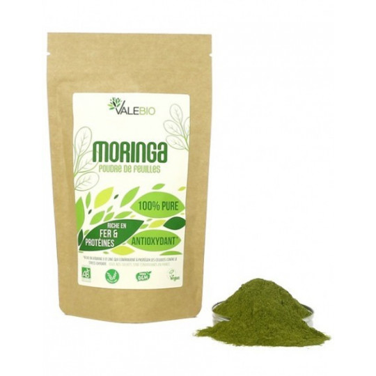 Moringa, superaliments, 100% bio