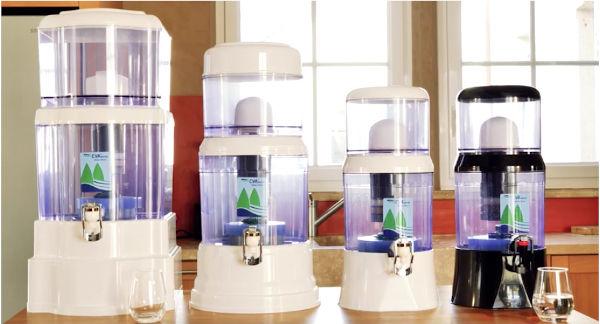 4 modeles de fontaine EVA