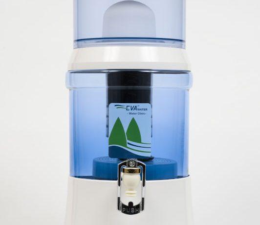 Fontaine EVA 7 litres cuve en verre