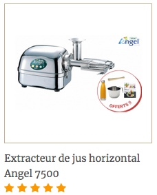extracterud jus angel 7500 + 4 accessoires offerts