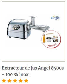 extracterud jus angel 8500 + 4 accessoires offerts