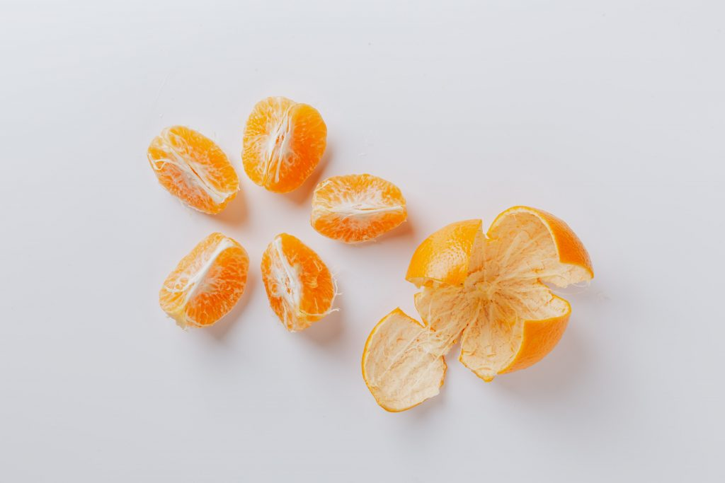 Épluchures de fruits