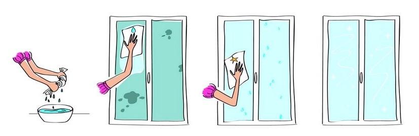 Brill'tout pour nettoyer ses vitre de manière écologique.