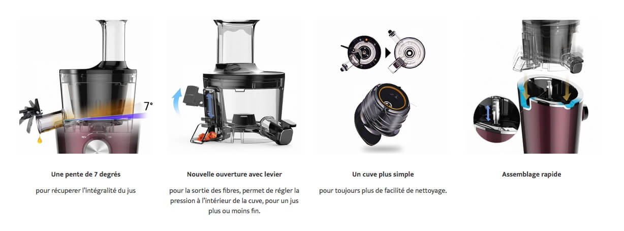 Description innovation technologique Hurom H-100