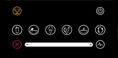 Vue écran digital Blendtec Designer 725
